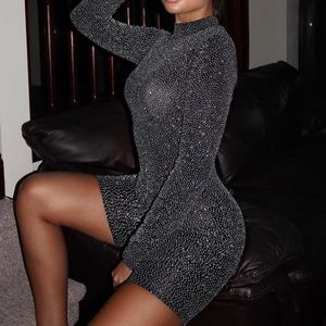 *NEW WITH TAGS* Black Glitter Long Sleeve Unitard